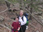 "Foster and Lecia only started backpacking after several ""car"" camping trips."